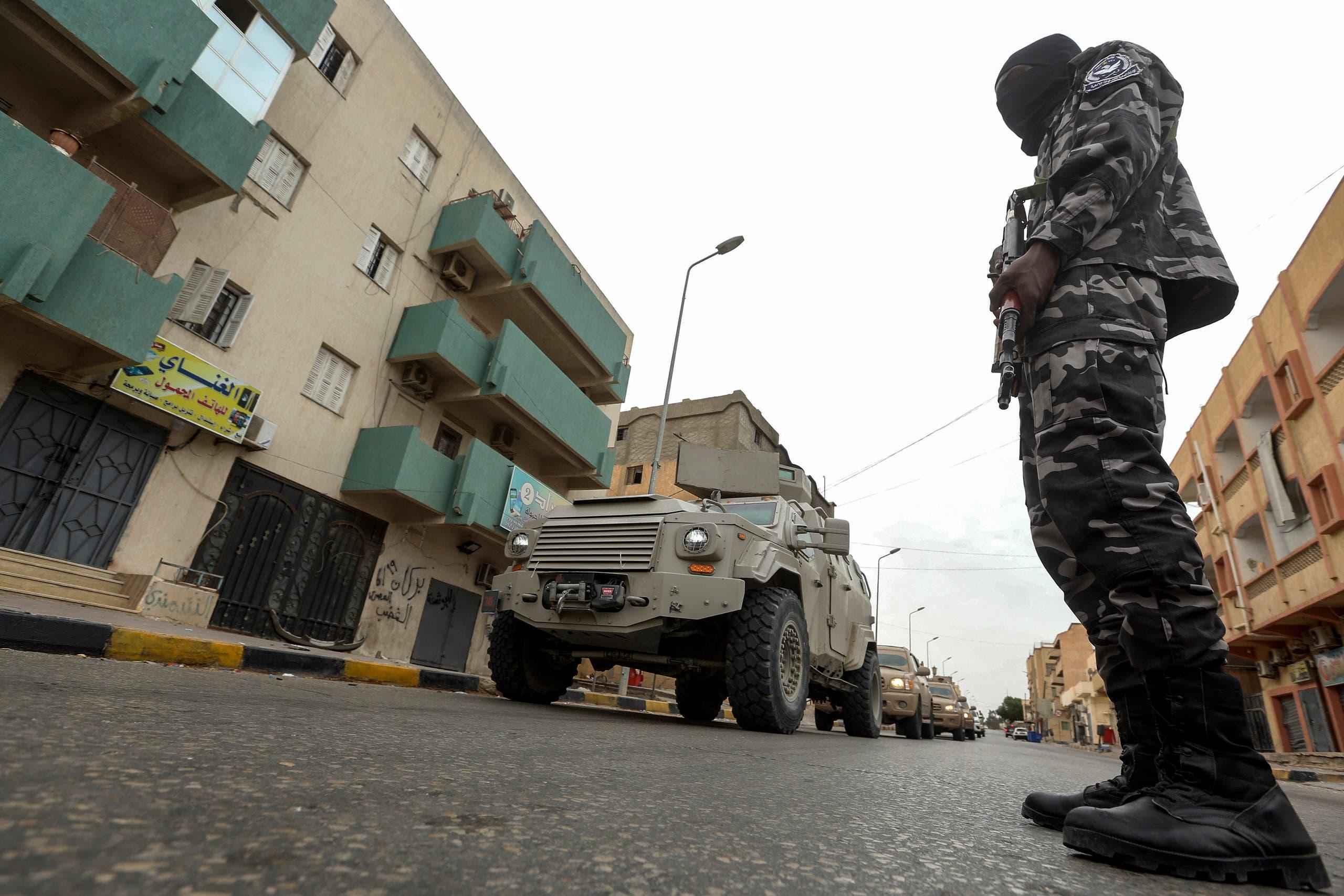 از پایتخت لیبی (بایگانی)