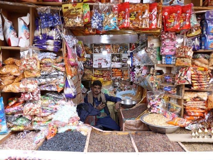 أسعار المواد الغذائية ترتفع 35% في عدة مناطق يمنية