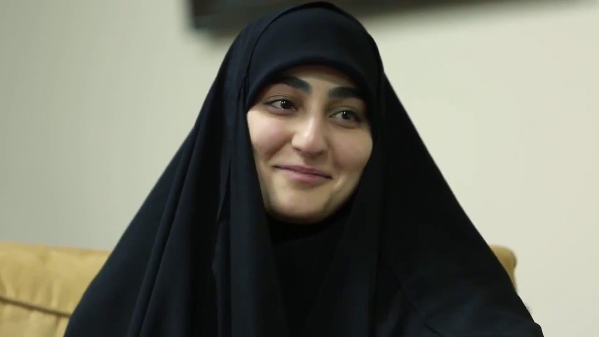 ابنة قاسم سليماني