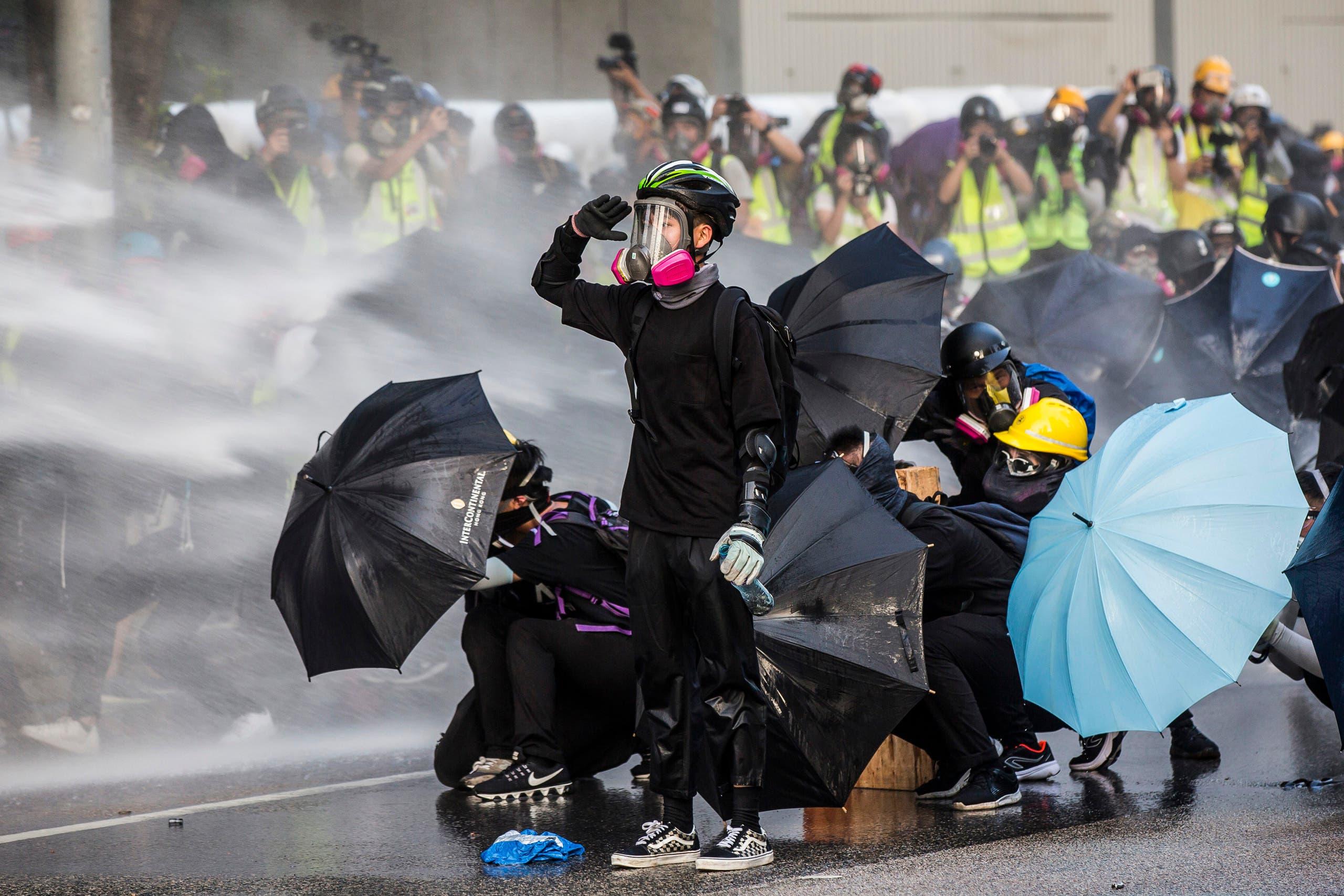 مظاهرات هونغ كونغ (فرانس برس)