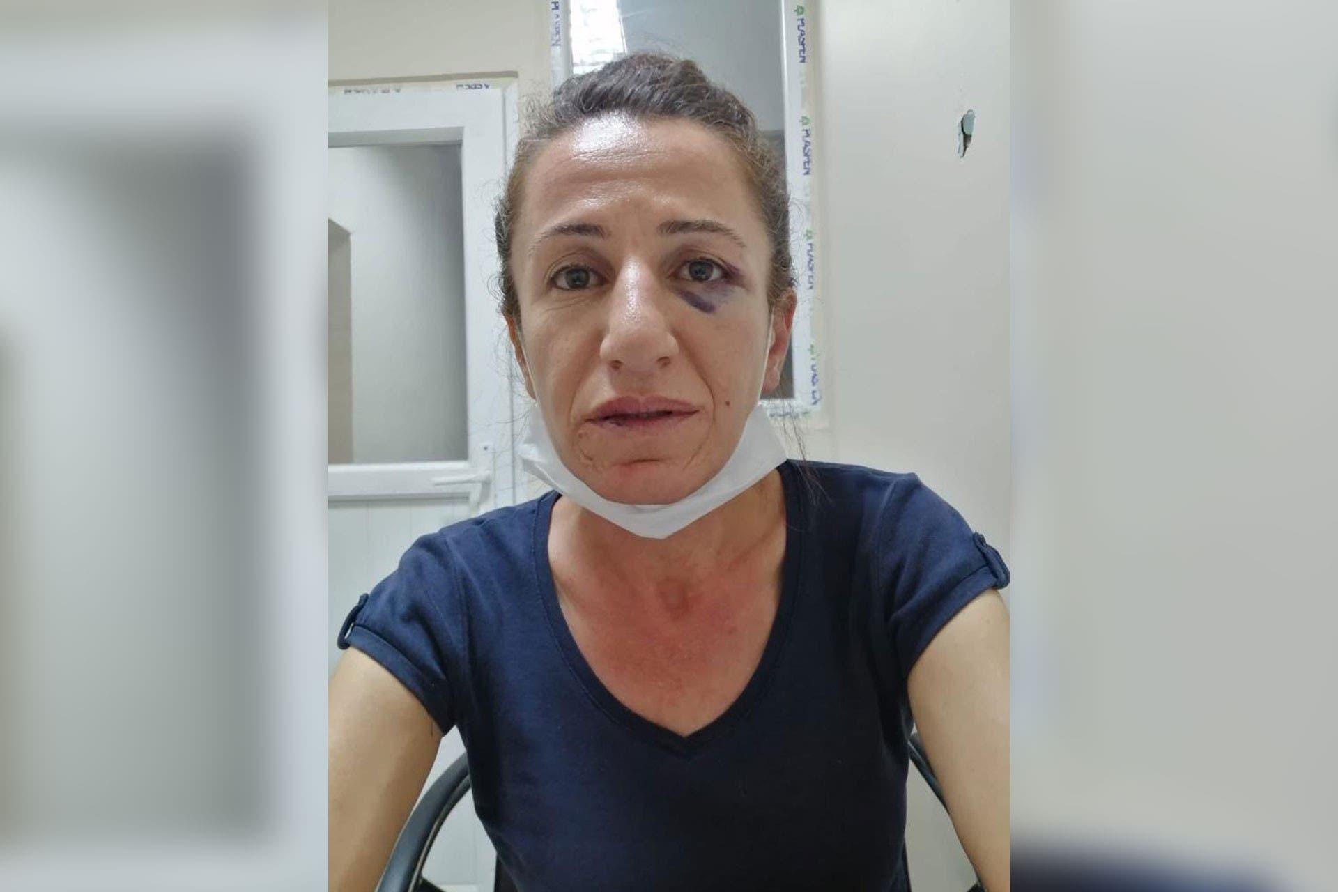 الناشطة الكردية