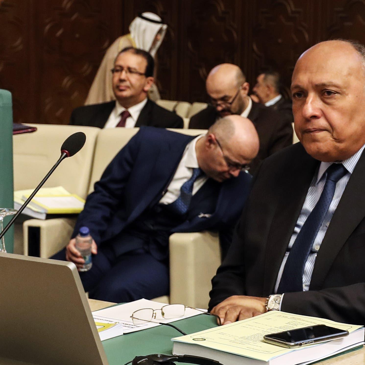 وزراء خارجية مصر وفرنسا وألمانيا يشددون على حل سياسي بليبيا
