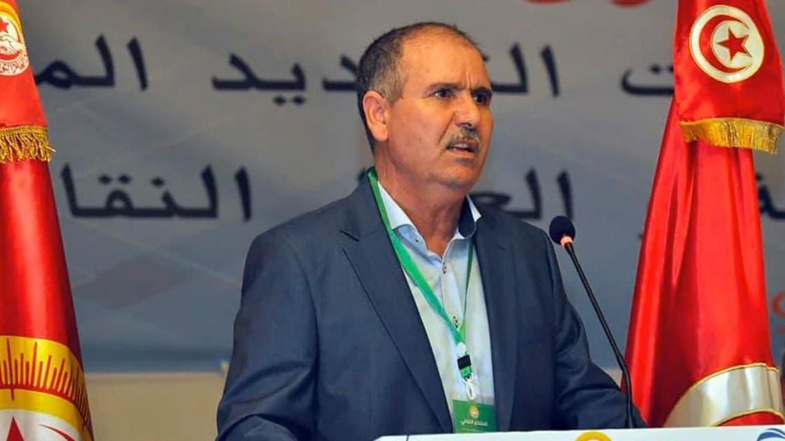THUMBNAIL_ مناصرو النهضة التونسية يهدرون دم أمين اتحاد الشغل