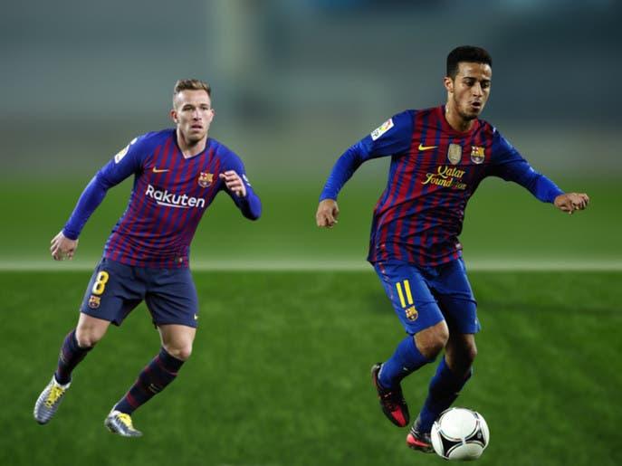 رحيل آرثر من برشلونة يعيد إلى الأذهان قصة انتقال تياغو