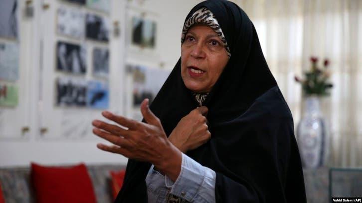 فائزة رفسنجاني: لا للانتخابات والشعب لا يعتبر أميركا عدوا بل النظام الإيراني