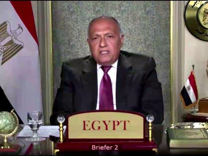 مصر: متمسكون بالحل السلمي في ليبيا