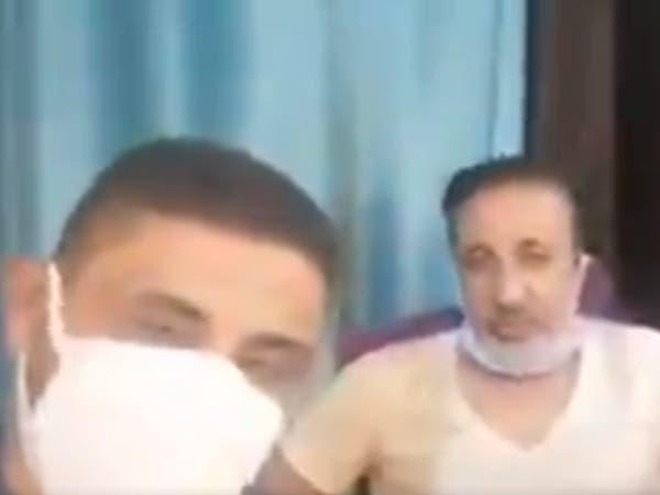 الوباء يطال فنانا عراقيا شهيرا.. وأول فيديو من المستشفى