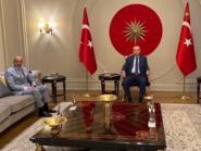 خلافاً للأعراف.. لقاء بين أردوغان ومحافظ مصرف ليبيا
