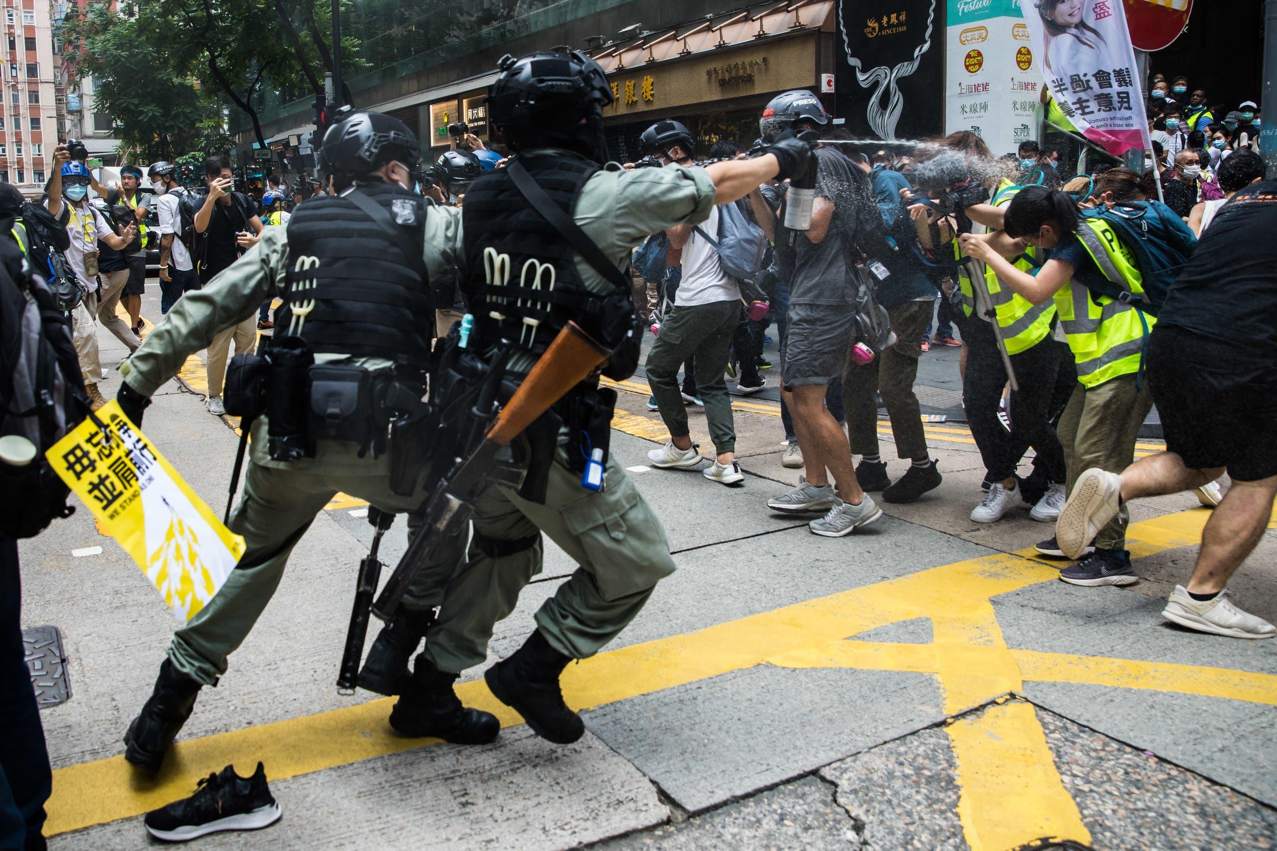 من هونغ كونغ يوم 1 يوليو