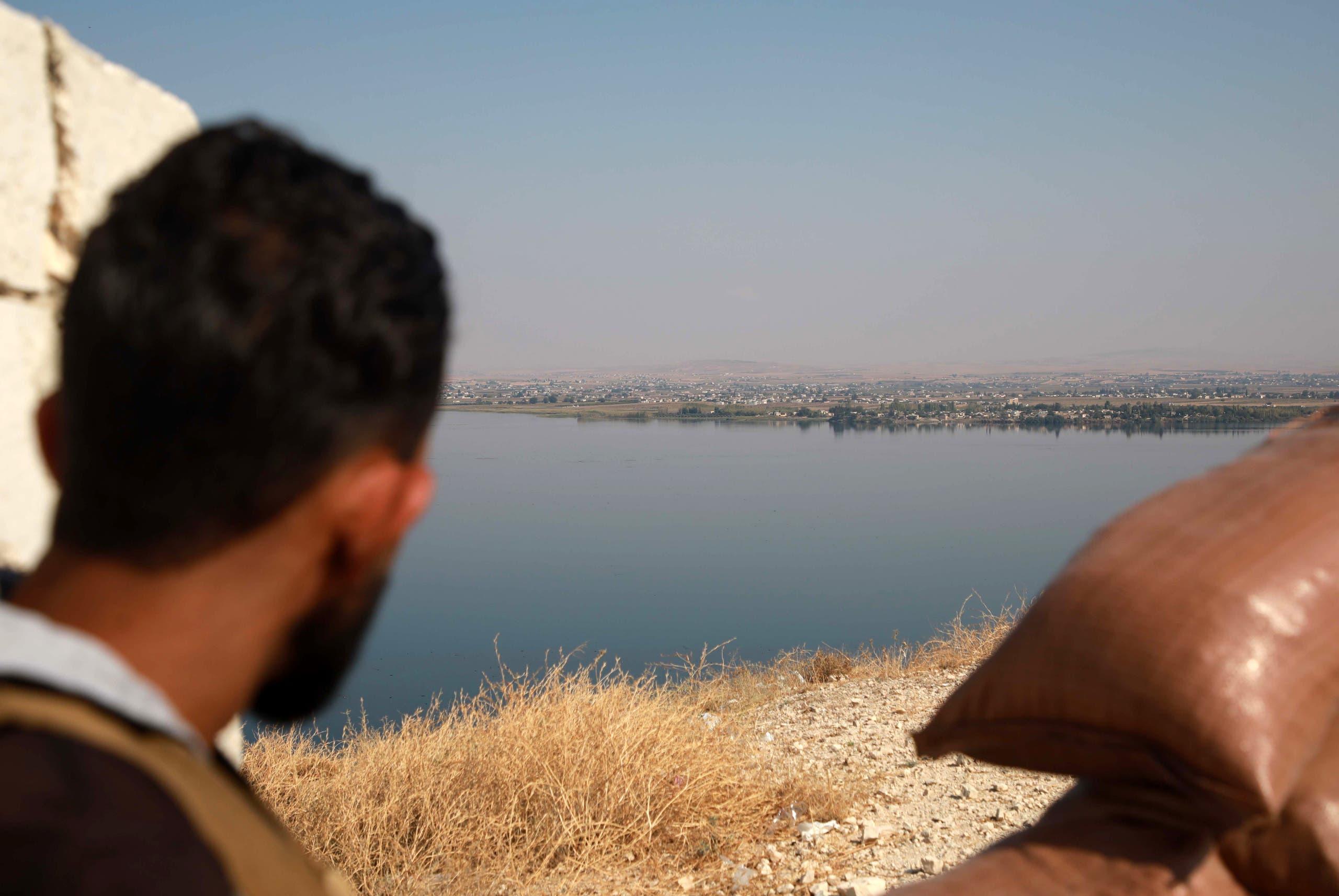 من شرق الفرات سوريا (أرشيفية- فرانس برس)