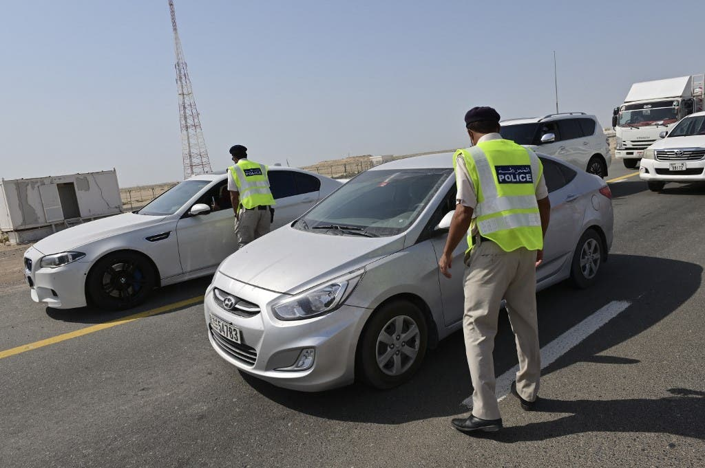 Emirati security forces man a checkpoint at the entrance of Abu Dhabi. (File photo: AFP)