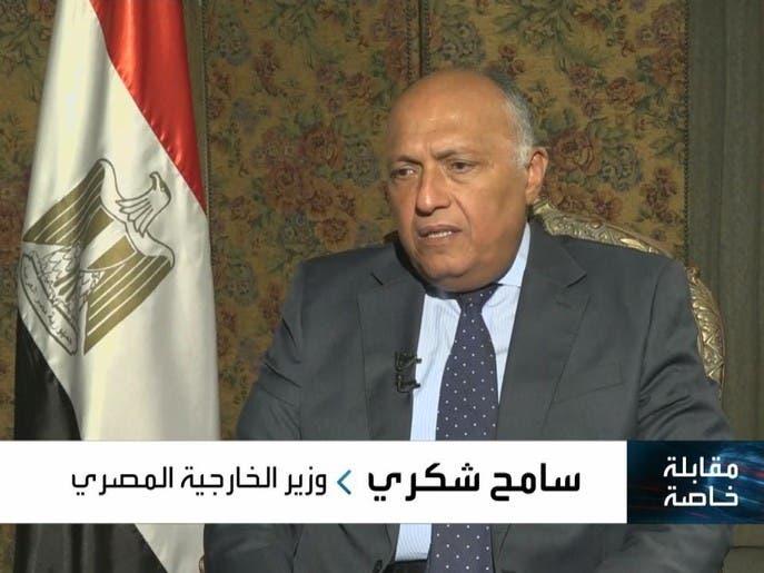 مقابلة خاصة   وزير الخارجية المصري سامح شكري