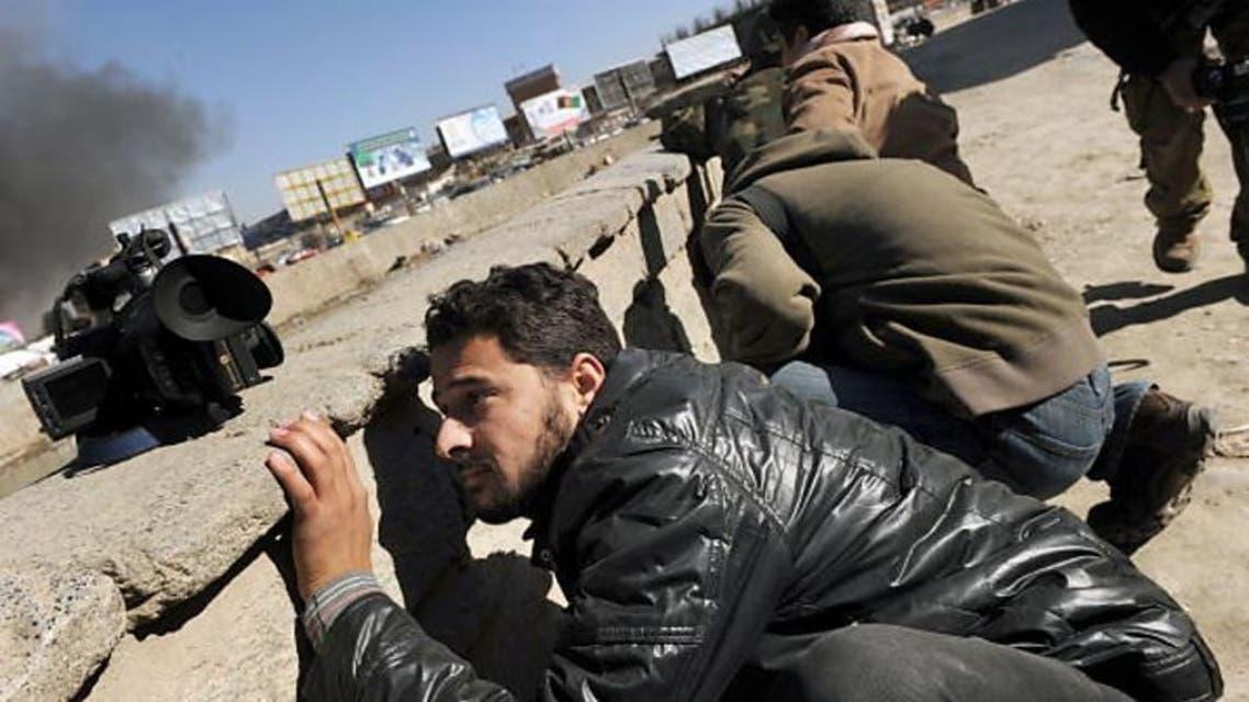 روزنامه نگاران افغان