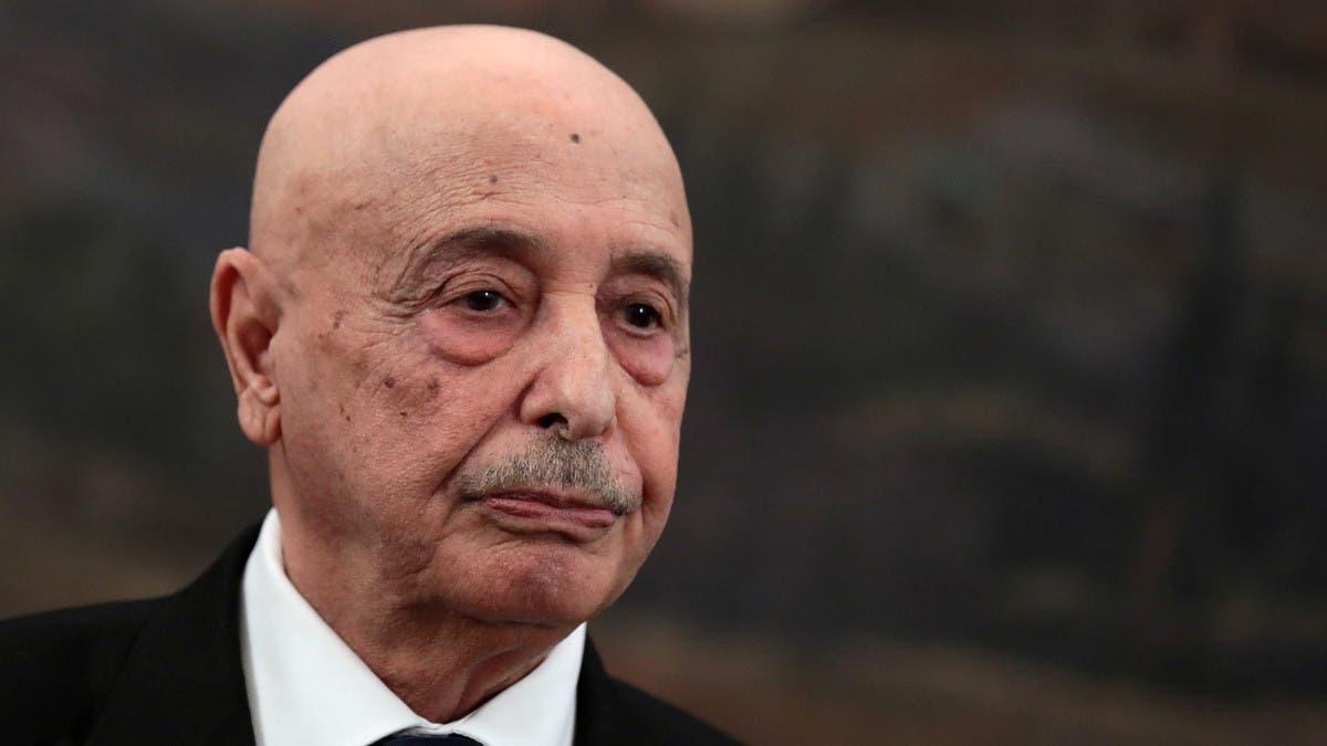 عقيلة صالح يعود لليبيا ويطالب بإعطاء الحكومة الجديدة فرصة