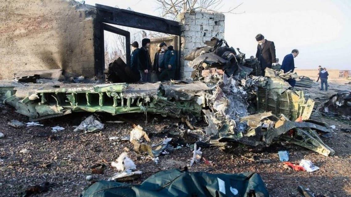 Ukraine Plane crashed in Tehran