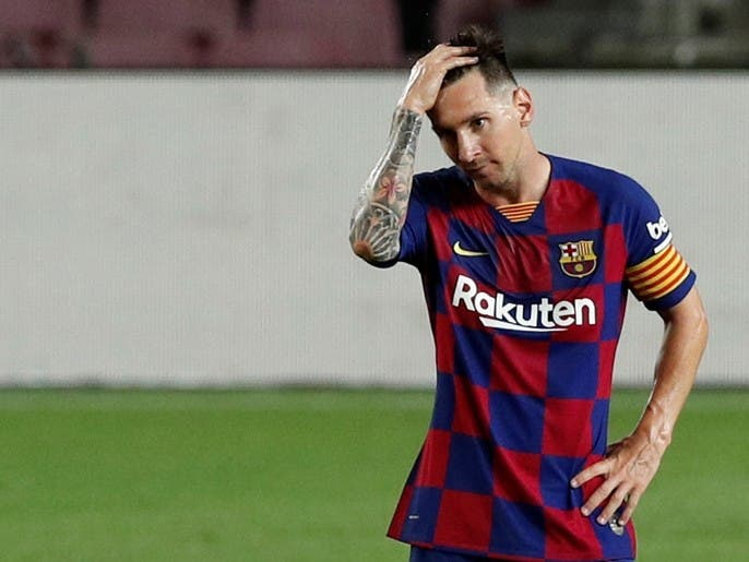 کوچ مسی از بارسلونا قطعی است