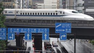 """""""الطلقة"""".. قطار ياباني يتحدى الزلازل"""