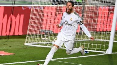 راموس يوسع الفارق بين ريال مدريد وبرشلونة إلى 4 نقاط