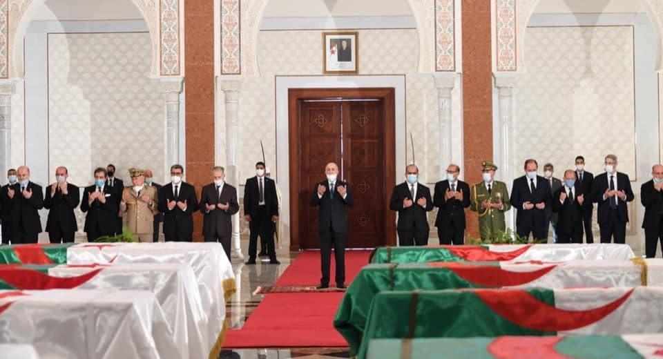 الجزائر تسلمت الرفات من فرنسا