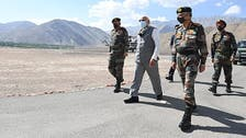 India's Modi makes surprise visit to China border, meets troops