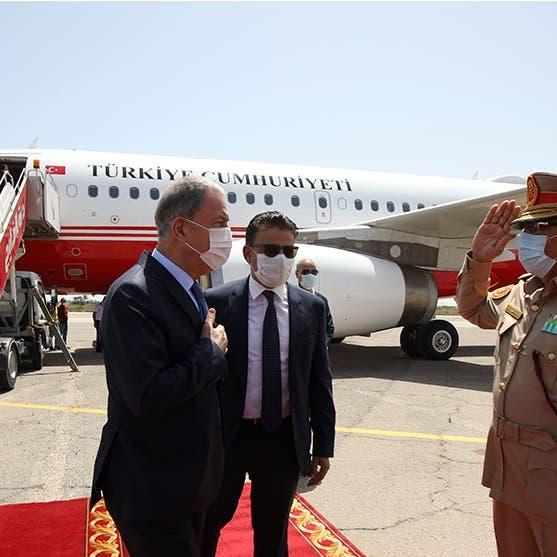 ليبيا.. وزير الدفاع التركي ورئيس الأركان في طرابلس
