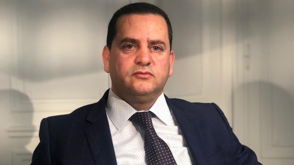 وزير الخارجية في الحكومة الليبية المؤقتة عبد الهادي الحويج