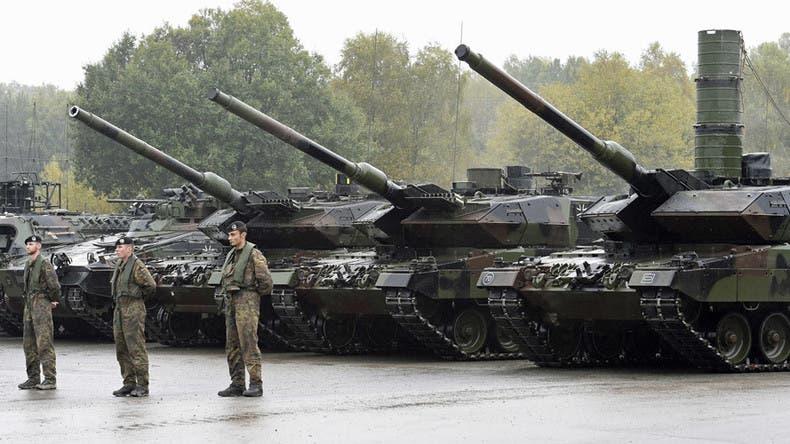 جانب من قوات حلف الناتو