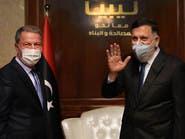 قبائل ورشفانة: زيارة أكار أظهرت احتلالا تركيا لغرب ليبيا