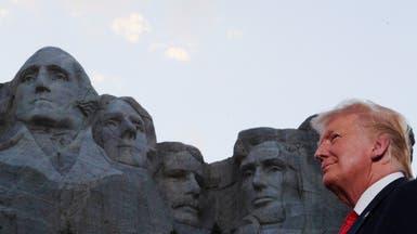 ترمب من أمام جبل راشمور: لن نسمح بثورة يسارية متطرفة