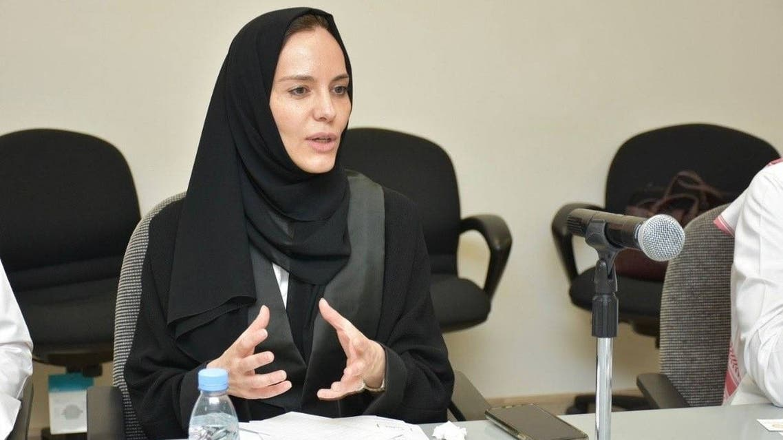 Dr. Lilac al-Safadi, who was appointed as the first female president of a co-educational university in Saudi Arabia. (Saudi Gazette)