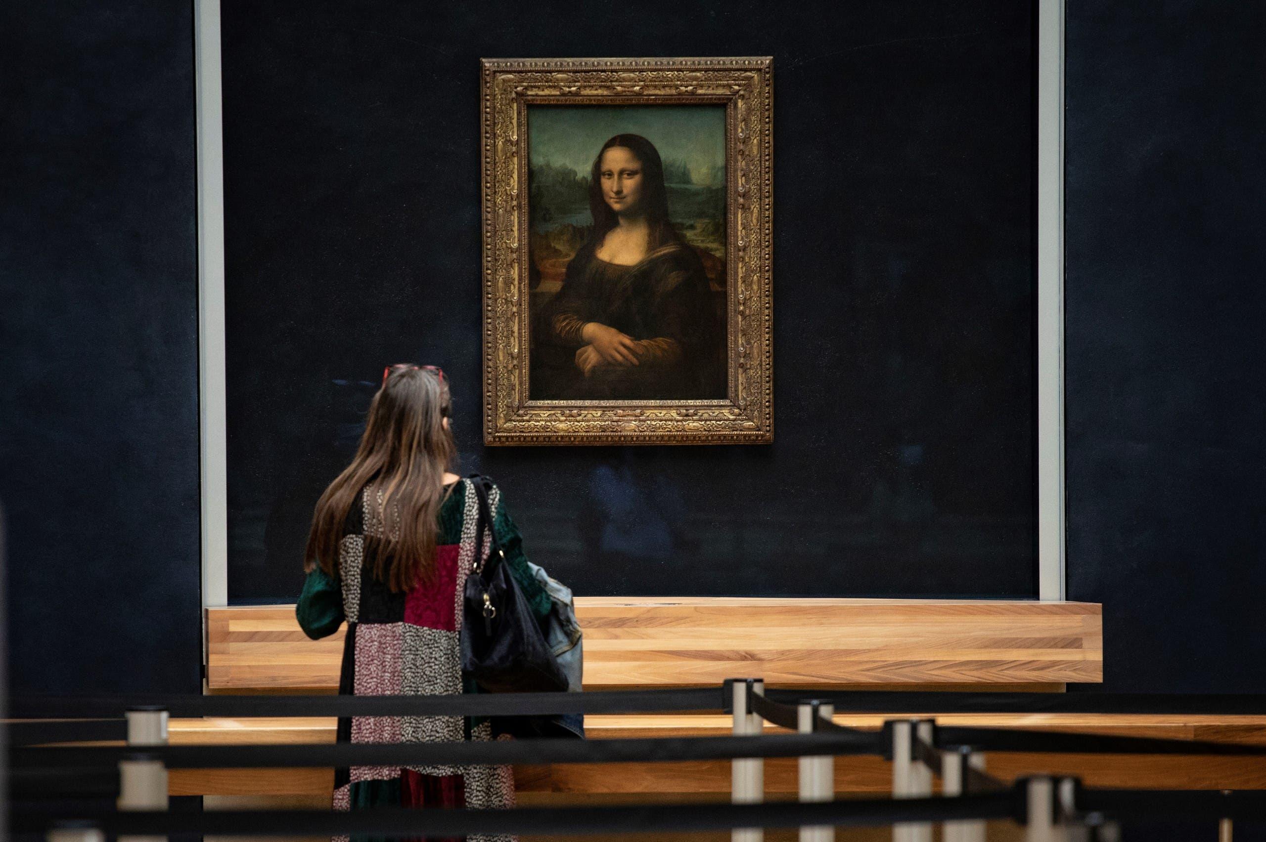 لوحة الموناليزا - بمتحف اللوفر