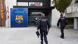 الشرطة الإسبانية تقتحم مكاتب نادي برشلونة
