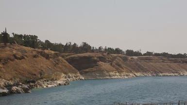 بالصور.. تراجع منسوب بحيرة سد الفرات أكبر سدود سوريا