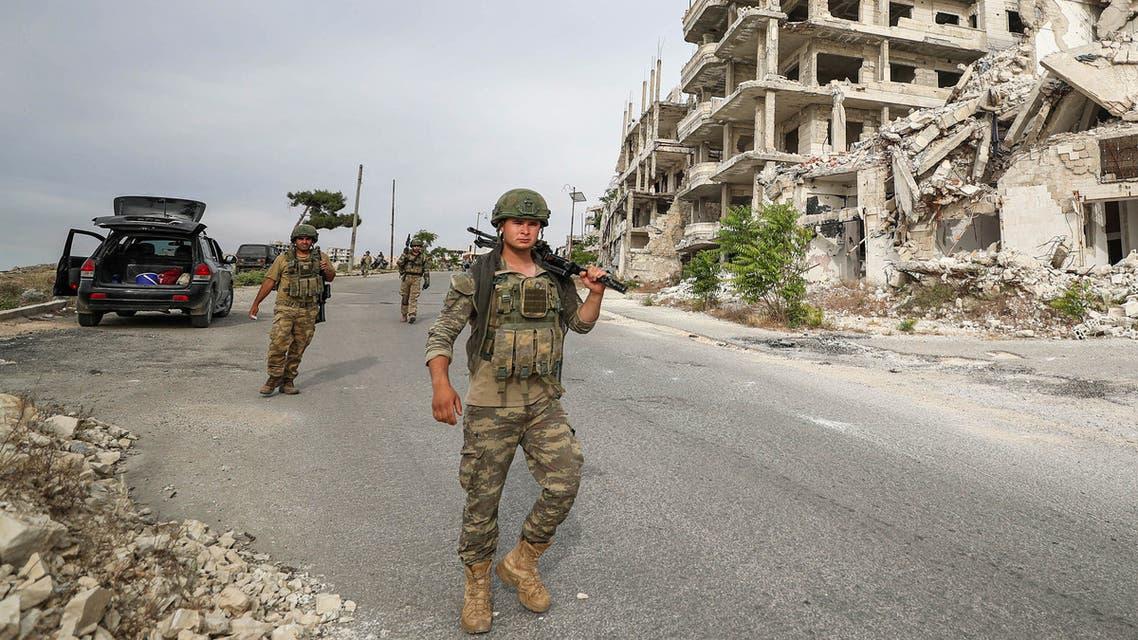 جنود أتراك في سوريا (أرشيفية من فرانس برس)