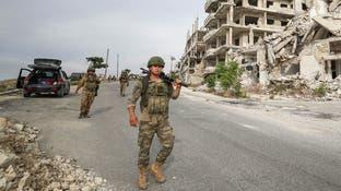 جرحى بقصف تركي لشاحنة على طريق الحسكة حلب الدولي