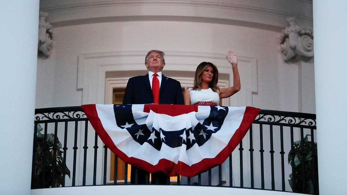 U.S. President Donald Trump holds 4th of July U.S. Independence Day celebrations at the White House. (Reuters)