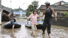 Japan floods, mudslides leave 20 dead, including nursing home elderly