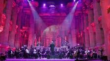 In Lebanon, single-concert festival serenades empty Baalbek ruins