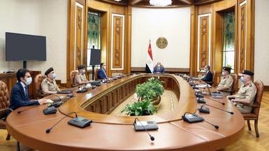 السيسي يطلع على تأمين الحدود الغربية مع ليبيا