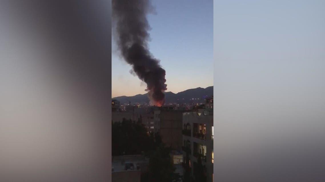 مسؤولون إيرانيون صرحوا أن سبب حريق نطنز هجوم إلكتروني