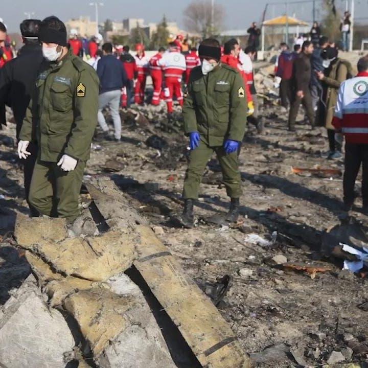 إيران: 25 ثانية بين الصاروخين اللذين أسقطا الطائرة الأوكرانية
