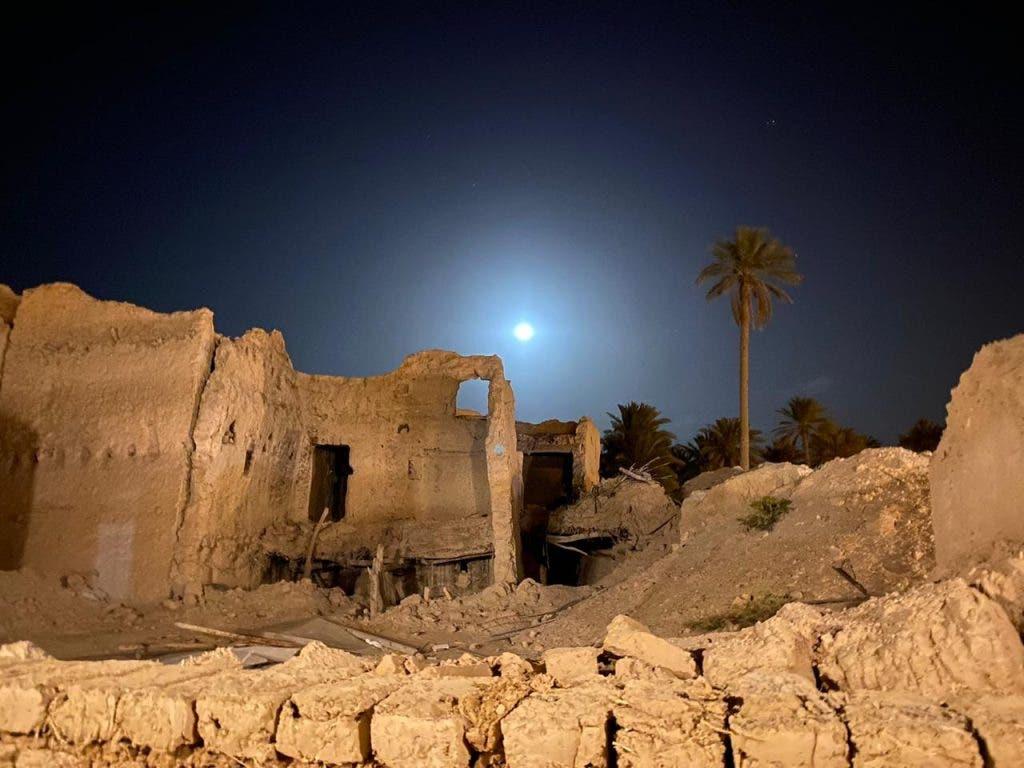 من المباني الأثرية في قرية سدوس