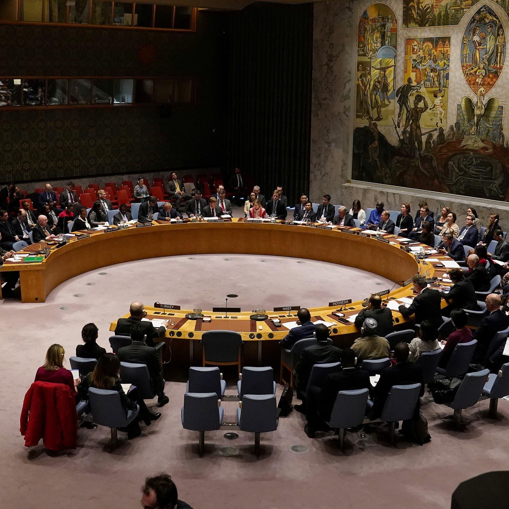 مجلس الأمن يدعو الفرقاء الليبيين لتنفيذ اتفاق جنيف بالكامل
