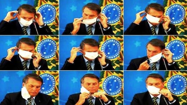 أعراض كورونا تظهر على رئيس البرازيل ونتيجة فحصه اليوم