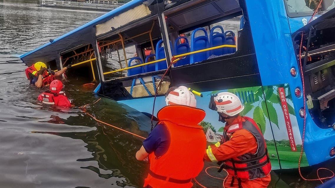 AFP_China bus plinge