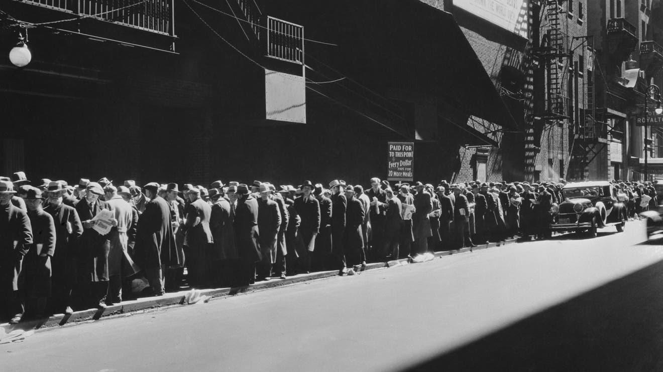أجواء الكساد العظيم في ثلاثينيات القرن الماضي