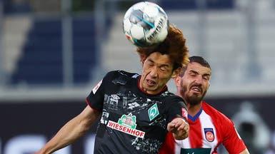 فيردر بريمن يبقى في الدوري الألماني على حساب هايدنهايم