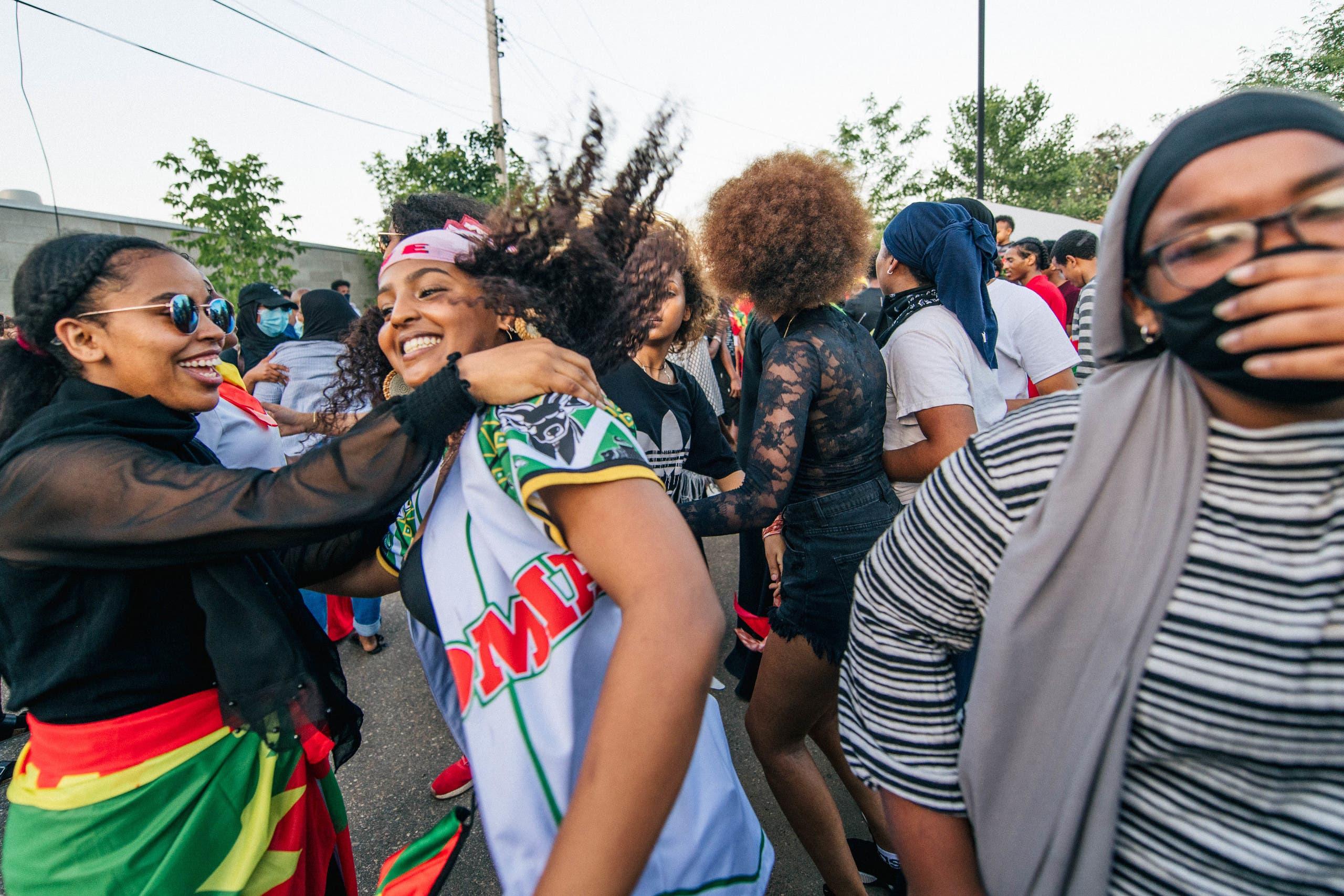 من احتجاجات أثيوبيا
