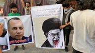 تصویری؛ «خامنهای قاتل است» شعار عراقیها در بغداد در واکنش به  ترور الهاشمی