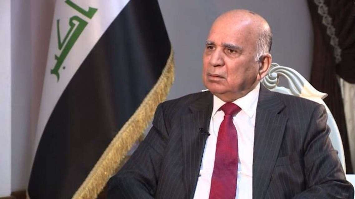 وزير الخارجية فؤاد حسين
